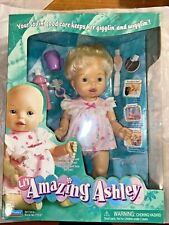 Lil'l Amazing Ashley 2000 Playmates Interactive Doll Talks Eats Moves Arms Mip