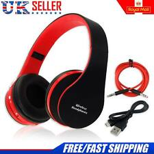 Foldable Wireless Bluetooth Headphones Stereo Headset Handsfree +Mic for iPhone