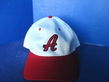 RICHARDSON~White & Red Oakland A's Adjustable PRO 212 CAP / HAT~NWT~Men's M/L