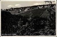 Oberbärenburg Sachsen Sächsische Schweiz Erzgebirge 1938 gelaufen Schmiedefeld