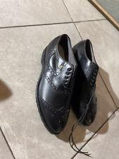 NEW Footjoy Classics Black Wing Tip Golf Shoes Men's Sz 9.5 D Style 55186