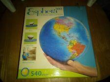 Esphera 3-D Plastic Spherical Puzzle, Globe