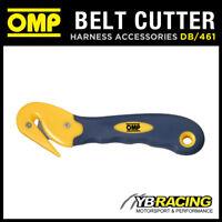 DB/461 OMP RACING PROFESSIONAL HARNESS SEAT BELT SAFETY CUTTER TOOL - CUTS BELTS