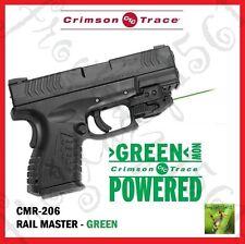 CRIMSON TRACE CMR-206 Rail Master Universal Green Laser Sight - FREE SHIPPING!