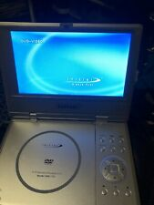 """Initial 7"""" TFT Widescreen Portable DVD Player IDM-1731 Bundle remote, charger,"""