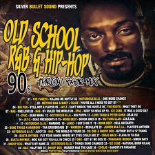 OLD SCHOOL R&B & HIP-HOP 90'S THROWBACK MIXTAPE CD