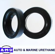 QLD MADE REAR POLYURETHANE COIL SPACERS Fits Mitsubishi Pajero NP Series x 30mm