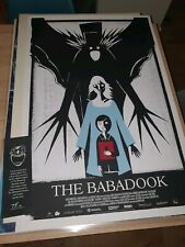 The Babadook - Limited Ed Screen Print by Alex Juhasz nt Mondo Original Artist