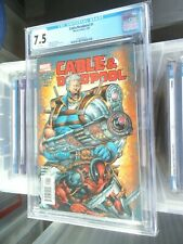 cable and deadpool 1 cgc 7.5