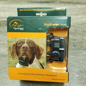 SportDog Rechargeable Large Big Dog No Bark Control Shock Collar SBC-10R NEW