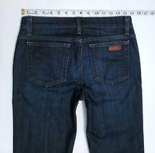 Joe's Jeans Women's PETITE FIT Faded Dark Blue Designer Slim Bootcut 30 x 30