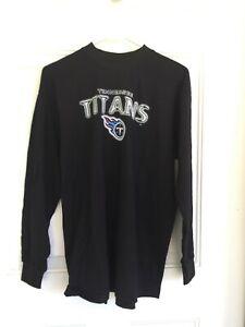 NFL TN Titans Youth Sweat Shirt – LS Black Size XL Youth - NWT