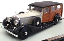 GLM 1/43 Scale Model Car 43204701 - 1928 Rolls Royce New Phantom Shooting Brake