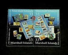 MARSHALL ISLANDS, 1999, STAMP COLLECTING, PHILATELY, BLOCK/4, MH, NICE! LQQK!