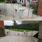 FlexiPanel Folding Dog Pet Fence Barrier Fencing Garden Expanding Gate Pen 1M