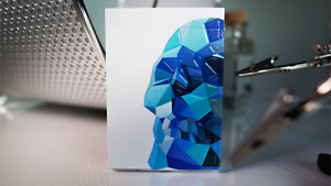 Memento Mori Blue Playing Cards Murphy's Poker Magic