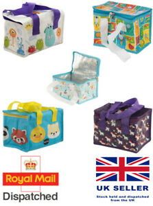 Lunch Cool Bag Children Kids Food Insulated Picnic School Box Ice Pack Sandwich