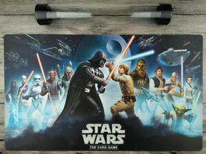 Star Wars The Card game Duel Mat YuGiOh Custom TCG/MTG/VG Playmat Free best Tube
