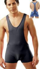 Sexy Mens Stretchy Wrestling Singlet Bodysuit Underwear #405