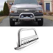 Stainless Steel Bull Bar Bumper Grill Guard For Chevy/GMC Heavy Duty Pickup/SUV