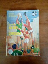 GAA 1988 All Ireland SFC final Meath v Cork REPLAY official match programme