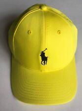30ecfa75470 Polo Ralph Lauren Mens Blend Baseline Performance Hat Sport Ball Cap Yellow
