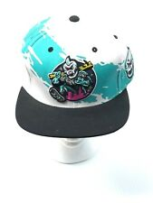 MNWKA Mishka Ol' One Eye Splash Style Snapback Turquoise Hat RARE