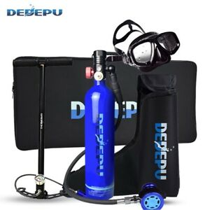 1L Mini Diving Scuba Tank Gear Underwater Breathing Kit