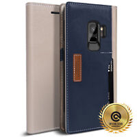 OBLIQ®  for Samsung Galaxy S9 [K3 Wallet] Hand Made Leather Wallet Case Cover