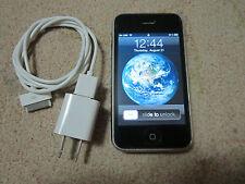 Apple 3G-8GB-BLACK-Factory Unlock Work W/ T-Mobile-ATT Or Workwide GSM Sim card