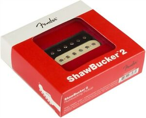 Genuine Fender ShawBucker™ 2 Humbucking Pickup P.N. 0992249002