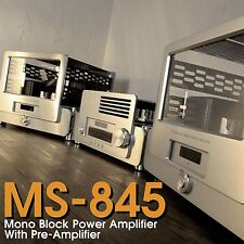 YAQIN MS-845 Vacuum Tube Hi-end Tube Mono Block Power Amplifier Pre-Amplifier