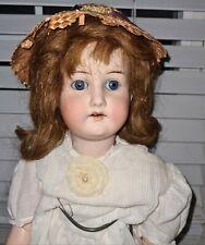 "Antique Heubach Koppelsdorf #250 Bisque Head 21"" German Jointed Doll Beautiful!"