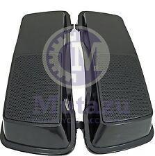 Mutazu Unpainted Raw ABS Finish 6 x 9 Speaker Lids for Harley Touring 1994-2013