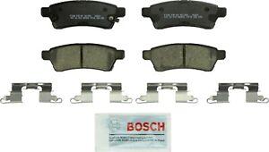 Disc Brake Pad Set-Quietcast Ceramic Pads with Hardware Rear Bosch BC1100