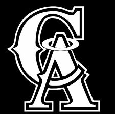 CA Los Angeles Angels of Anaheim LA Logo car Window vinyl sticker decal