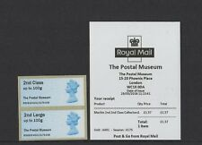NEW MARCH 2018 THE POSTAL MUSEUM MACHIN 2nd CLASS Ma15 COLL STRIP B3GB18 Post Go