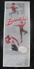 BREAKIN original brake dancing movie poster INSERT 1984