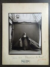 Richard Avedon, Made in France, 12.25x15,sewn hardcover book, Harper's Bazzar