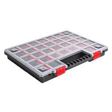 Sortimentskasten Kunststoff Sortimentsbox NORS16 Rot Sortierbox 40x30x5