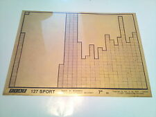 Microfich Fiat 127 Sport 7a ED Microfilm Ersatzteilkatalog Ersatzteilekatalog