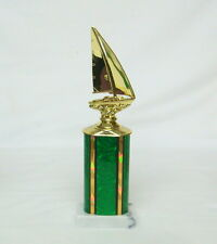 SAILBOAT TROPHY SAILING TROPHY,  BOAT TROPHY  TROPHIES # 1 @@