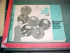 1984 FORD THUNDERBIRD COUGAR XR7 ELECTRICAL VAC TROUBLESHOOTING MANUAL EVTM good