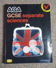 AQA GCSE Separate Science Student Book by Simon Broadley, Mark Matthews, Philipp