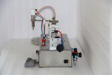 Brand New 110V50-500ml Liquid Filling Machine w/One Nozzle Full Pneumatic Filler