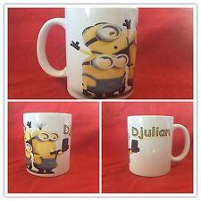 Mug ( Tasse ) personnalisé Les Minions Version 3 avec prenom