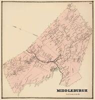 Stone 1866-23.00 x 25.91 Redfield New York