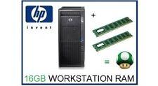 16 GB (2x8GB) DDR3 ECC RDIMM memoria RAM upgrade del HP Z420 Workstation 1333 MHz