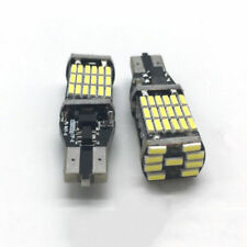Charm 2pcs T15 4014 45SMD 6000k White Backup Reverse LED Lights Error Free Bulbs