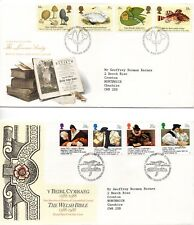 1988 Linnean Society to Christmas First Day Cover Year Set
